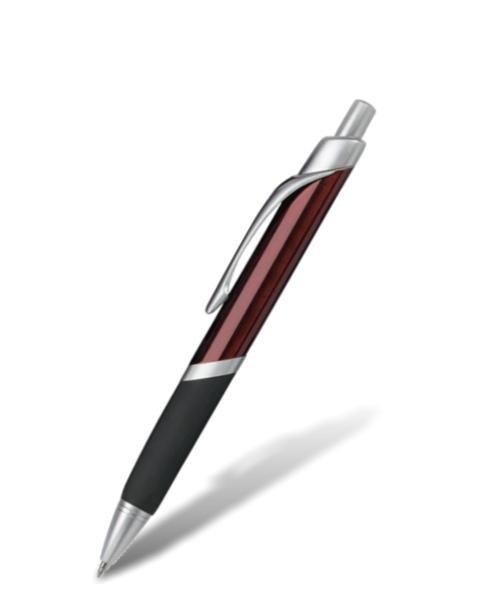 Handlich ergonomischer Kugelschreiber mit Logo