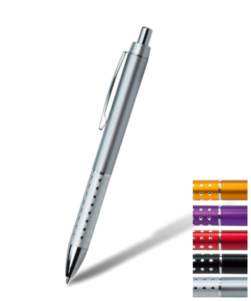 Glanzvoller Kugelschreiber bedruckt
